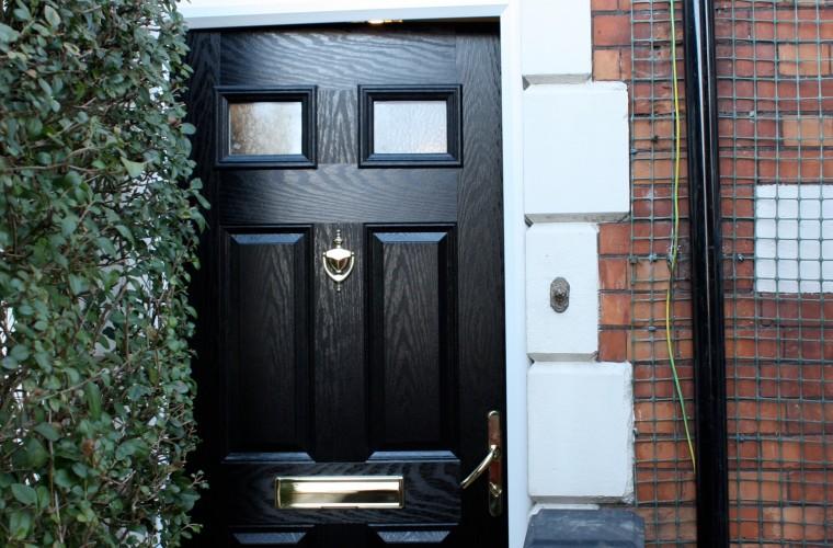 black front doors somerset