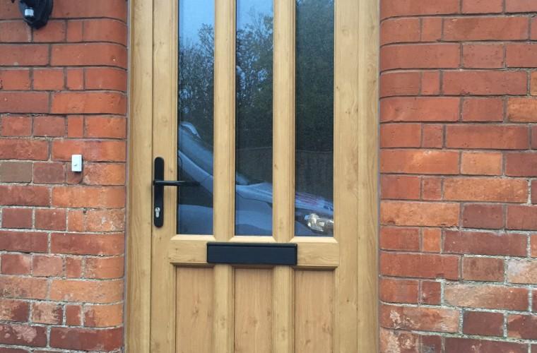 wood front doors somerset