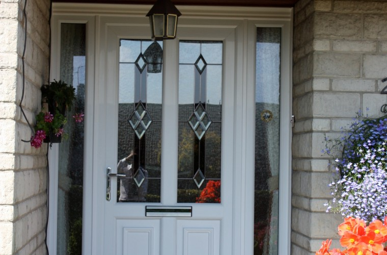 white front doors somerset by Notaro Windows