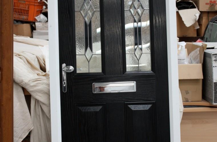 black front doors somerset by Notaro Windows