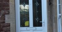 white-front-door-with-rectangular-window-panels