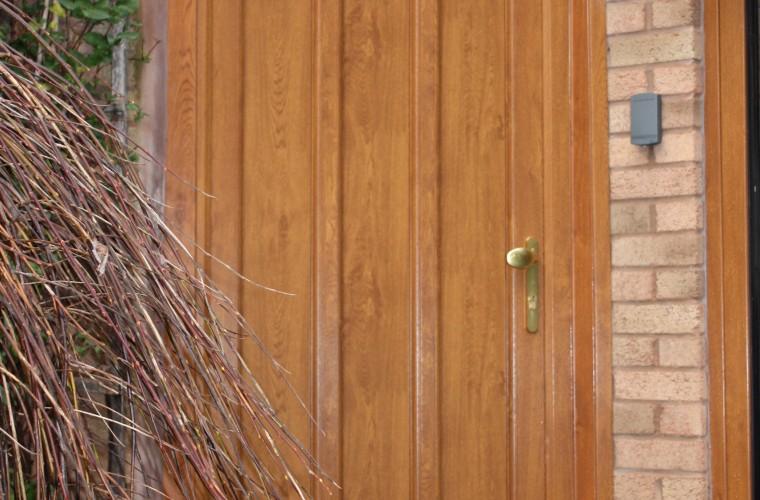 panel wood front door in somerset