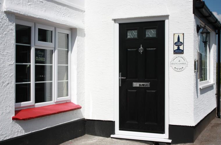 black front doors somerset by Notaro Windows 2