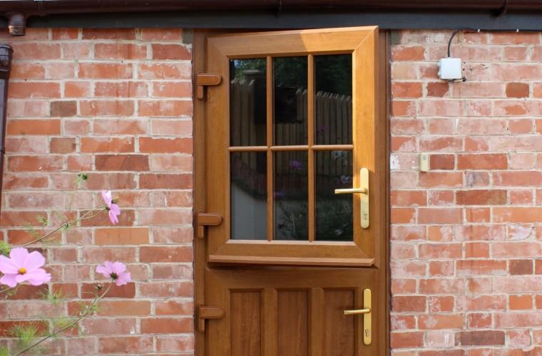 Wooden Upvc Stable Doors In Somerset