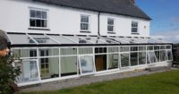 Conservatory Sliding Sash Windows in Somerset