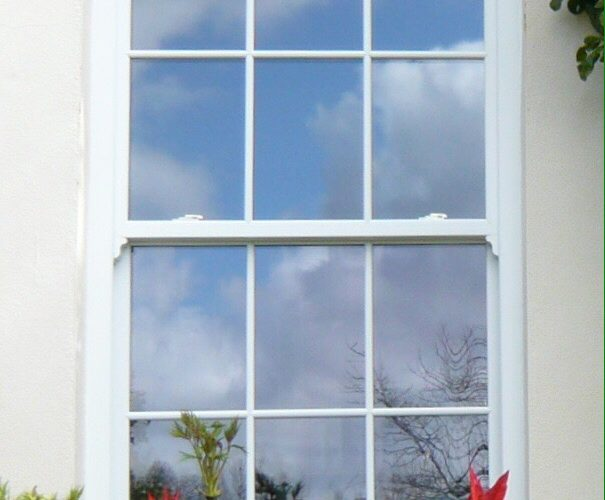 White Sliding Sash Windows in Somerset