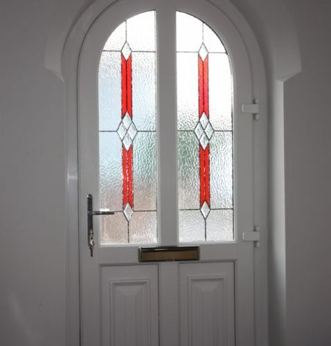 glass stained front doors somerset
