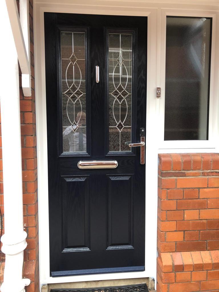 Solid Double Front Doors